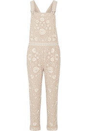 Needle & Thread Embellished georgette overalls