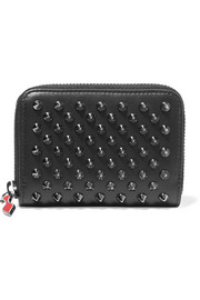 Christian Louboutin Panettone spiked leather wallet