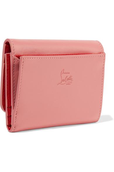09e0b35f2c5 Macaron mini spiked leather wallet