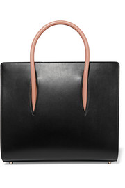 Paloma medium spiked leather tote