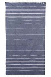 Hammamas Set of two striped woven cotton towels
