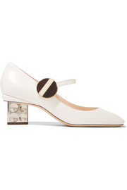 Nicholas Kirkwood Ciara leather Mary Jane pumps