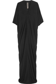 Rick Owens Kite draped crepe gown
