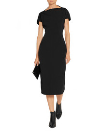 Rick Owens Dagger Calpurnia cotton-blend canvas dress
