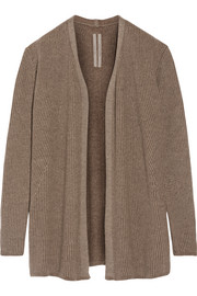 Rick Owens Ribbed cashmere-blend cardigan