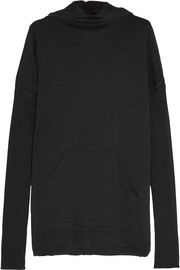 Rick Owens Hooded merino wool sweater