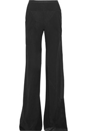 Mastodon silk-georgette wide-leg pants
