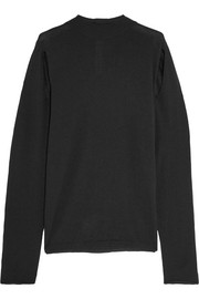 Rick Owens Lupetto cutout wool sweater