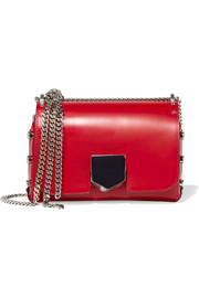 Jimmy Choo Lockett small leather shoulder bag