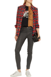 M.i.h Jeans Bridge stretch-leather skinny pants