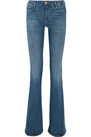 Marrakesh mid-rise flared jeans