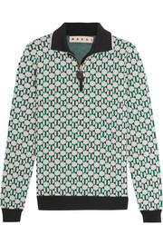 Marni Jacquard-knit sweater