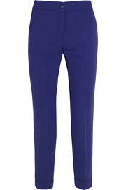 Etro Sigaretta stretch-crepe tapered pants