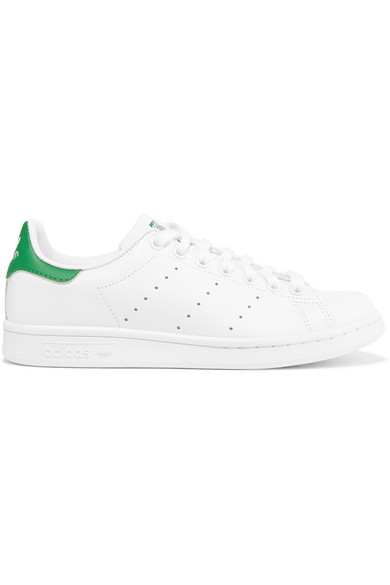 f17e9535df40c4 adidas Originals. Stan Smith leather sneakers