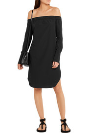 Rag & bone Kacy off-the-shoulder cotton-poplin dress