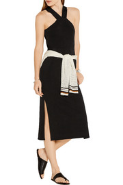 Rag & bone Rachel cutout ribbed stretch-knit dress