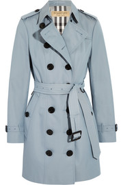 Burberry London The Sandringham cotton-gabardine trench coat