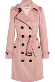 Burberry London The Sandringham cashmere trench coat