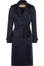 Burberry London Denverhil silk-satin trench coat