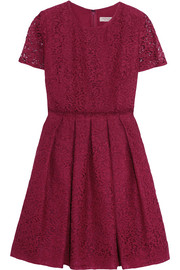Burberry London Corded cotton-blend lace dress
