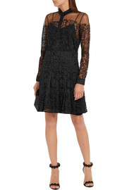 Burberry London Chantilly lace mini dress