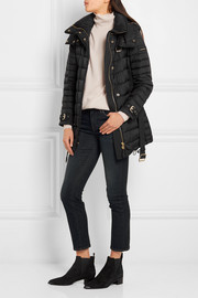 Burberry Brit Quilted shell down coat