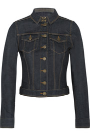 Burberry Brit Stretch-denim jacket