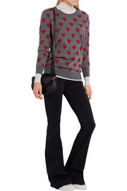 Burberry Brit Intarsia wool sweater