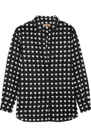 Burberry Brit Printed linen shirt