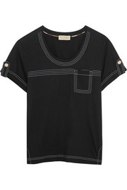 Burberry Brit Cotton-jersey T-shirt
