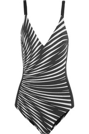 La Perla Op-Art printed swimsuit