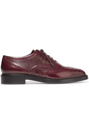 Burberry London London patent-leather brogues