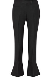 Fendi Wool and silk-blend flared pants