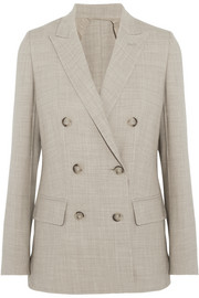 Galea double-breasted stretch-wool blazer