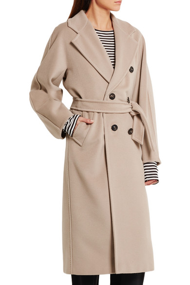 Max Mara Madame 101801 Wool And Cashmere Blend Coat