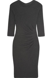 Jumbo gathered stretch-jersey dress