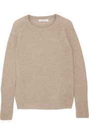 Orbita cashmere and silk-blend sweater