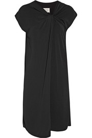 Maison Margiela Twist-front crepe dress