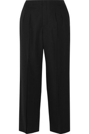 Maison Margiela Wool-crepe wide-leg pants