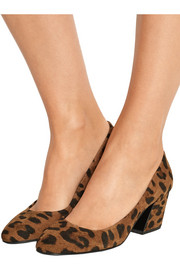 Pierre Hardy Calamity leopard-print suede pumps