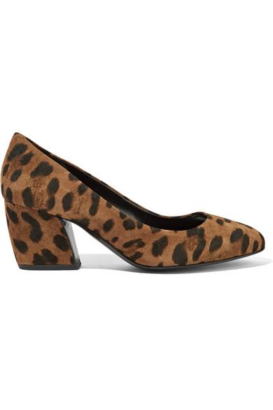 Pierre Hardy - Calamity Leopard-print Suede Pumps - Leopard print