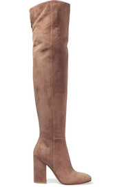 Suede over-the-knee boots