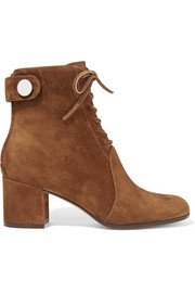Gianvito Rossi Finlay suede ankle boots