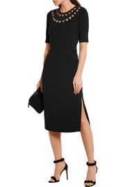 Altuzarra Minnie cutout stretch-crepe pencil dress