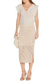 Altuzarra Millier crochet-knit pencil skirt