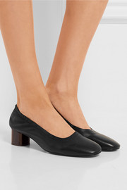 Robert Clergerie Poket leather pumps