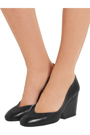 Robert Clergerie Tessy leather pumps