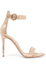 Gianvito Rossi Brocade sandals