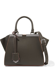 Fendi 3Jours small leather tote