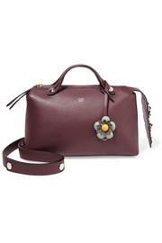 By The Way small embellished floral-appliquéd leather shoulder bag